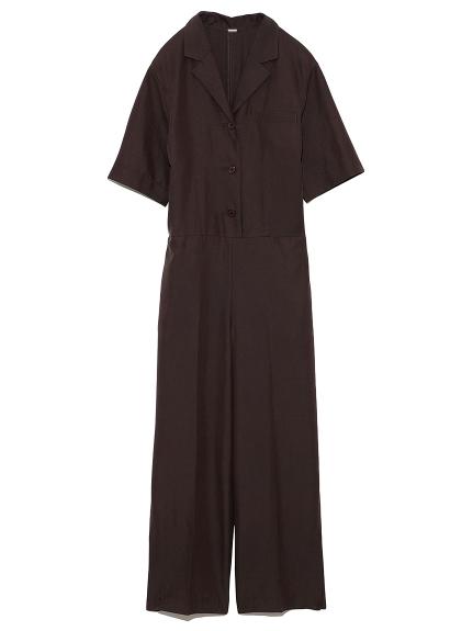 開襟半袖ジャンプスーツ(BRW-0)