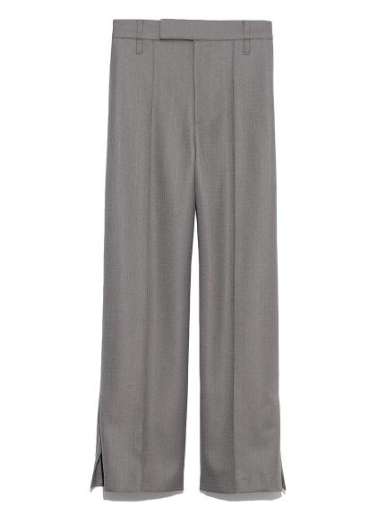 裾ベンツ後ろゴムワイドパンツ(DBRW-0)