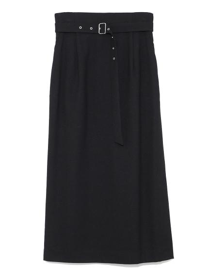 サイドベンツストレートスカート(BLK-0)