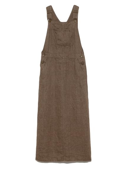 リネンジャンパースカート(MOC-0)