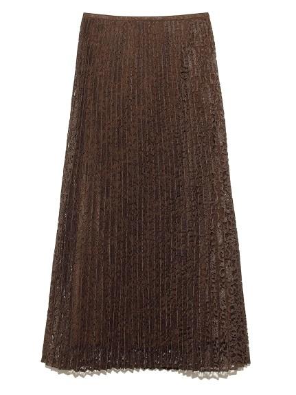 セットアップレースプリーツマキシスカート(KKI-0)