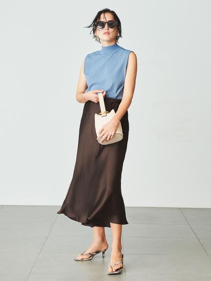 テールサテンスカート