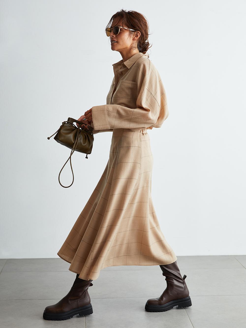 マテリアルセットアップナロースカート