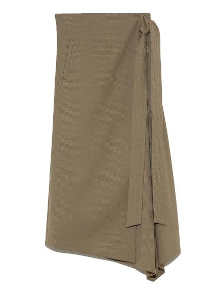 ウエストリボンラップデザインスカート