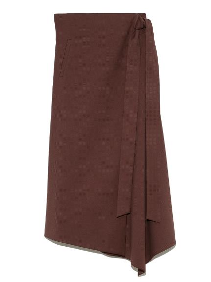 ウエストリボンラップデザインスカート(BRD-0)