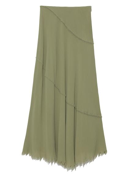 斜め切り替えナロースカート(GRN-0)