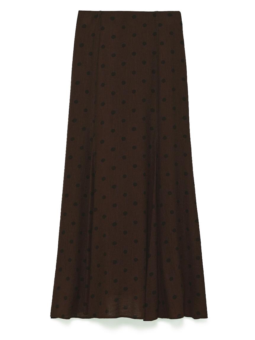 マチフレアSTデザインナロースカート(BRW-0)