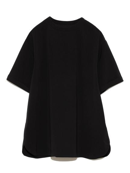 Tシャツライクブラウス(BLK-F)