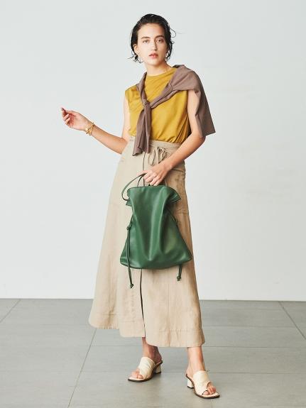 タイデザインギャザーバッグ