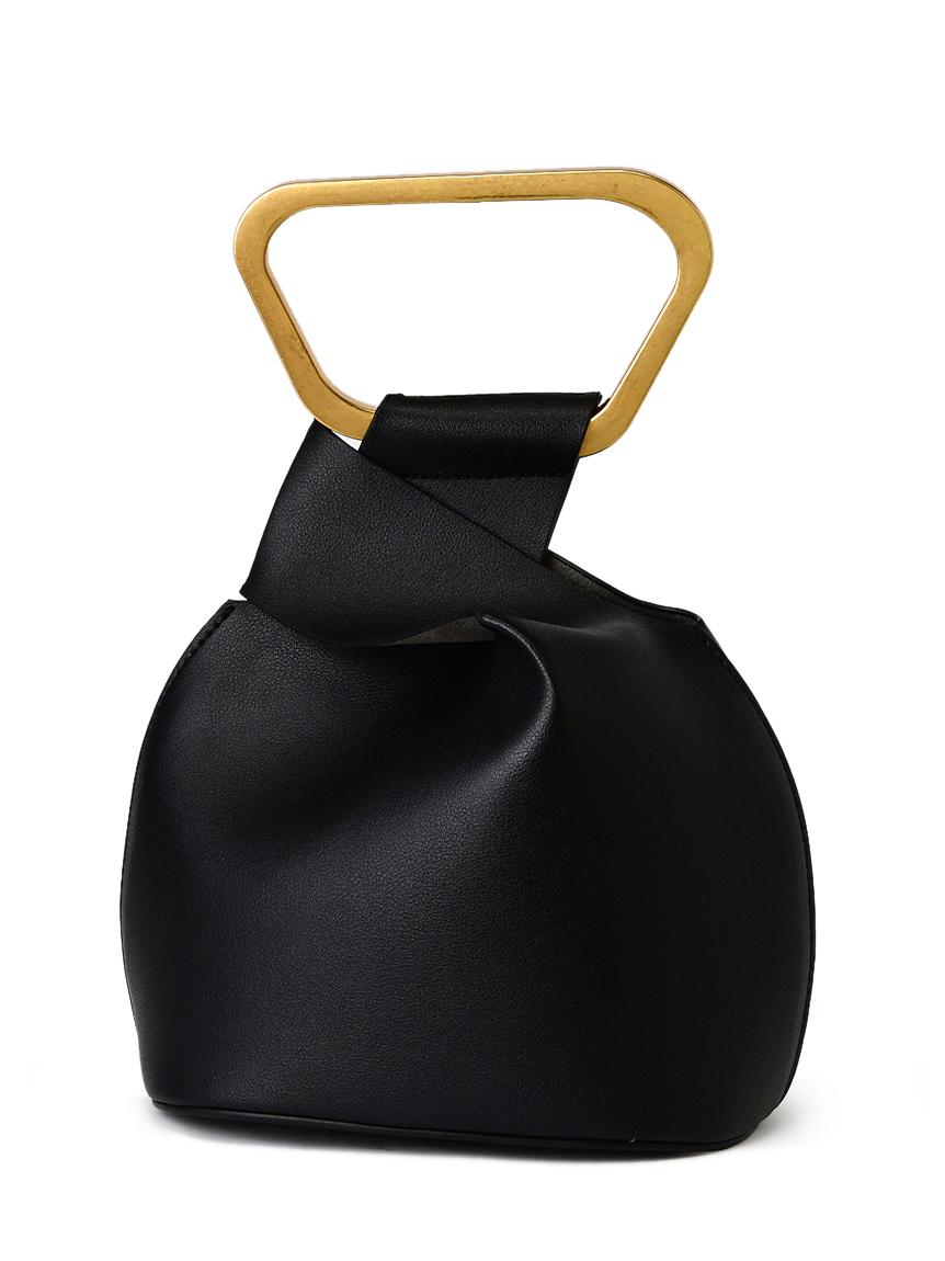 メタルハンドルミニバッグ(BLK-F)