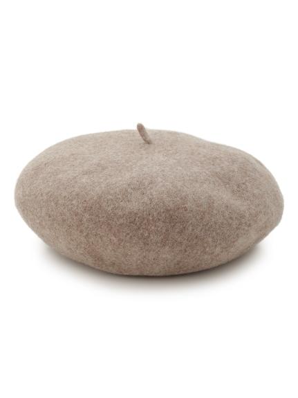 バスクリブベレー帽(BEG-F)