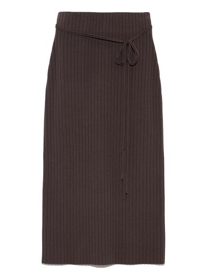 ワイドリブニットタイトスカート(KKI-0)