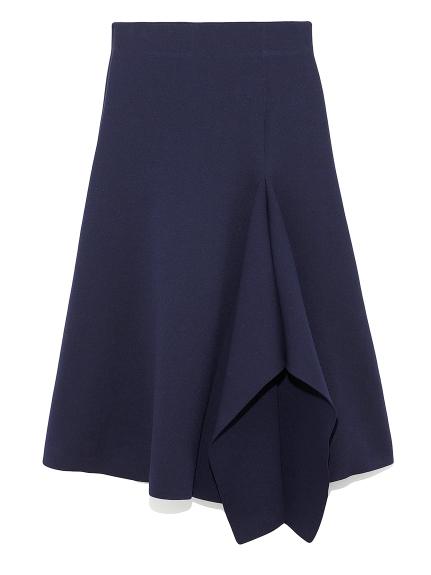 デザインヘムニットスカート(NVY-0)