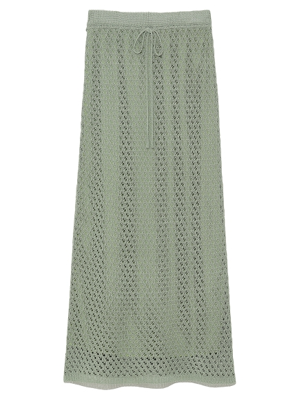 かぎ針編みライクニットスカート