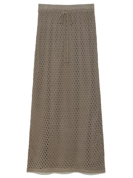 かぎ針編みライクニットスカート(MOC-0)