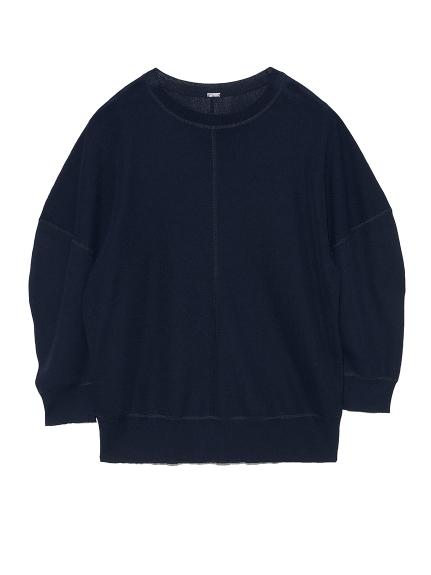 SET UP 袖コンシャスニットトップス(NVY-0)