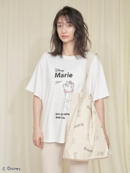 【Disneyマリー】プリントTシャツ(WHT-F)