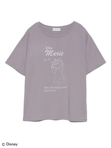 【Disneyマリー】プリントTシャツ(LGRY-F)