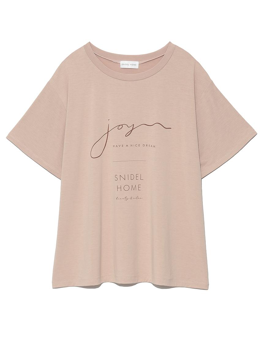 サラフリーメッセージロゴTシャツ(PBEG-F)