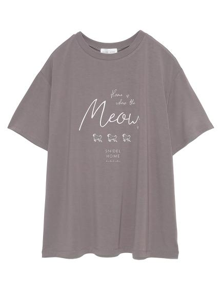 クールレーヨンロゴシリーズTシャツ