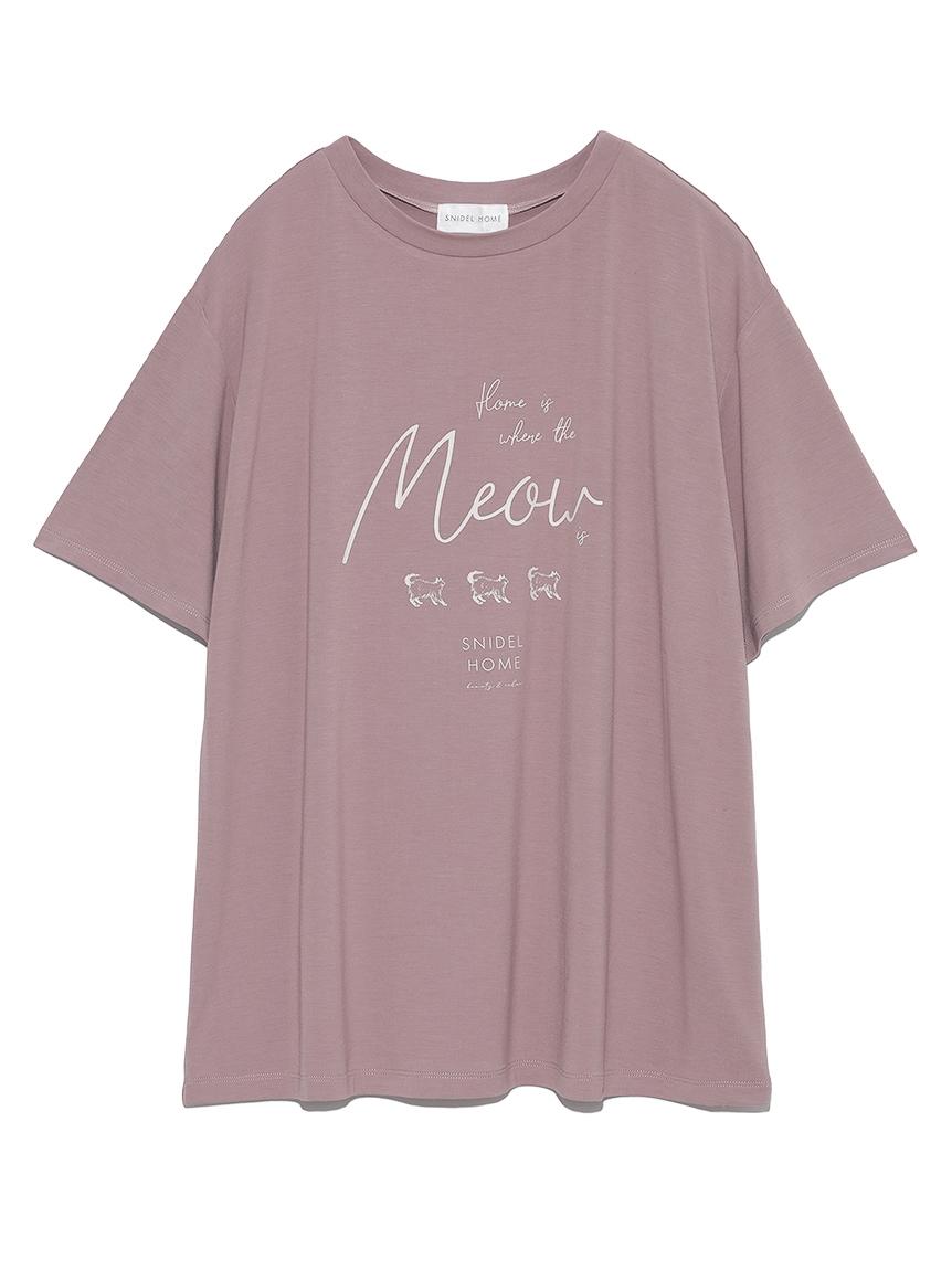 クールレーヨンロゴシリーズTシャツ(PNK-F)