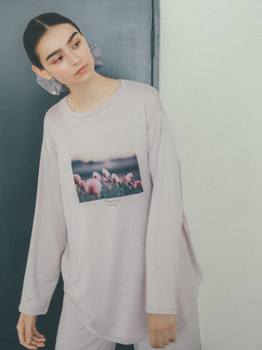 キュプラフォトTシャツ(LPNK-F)