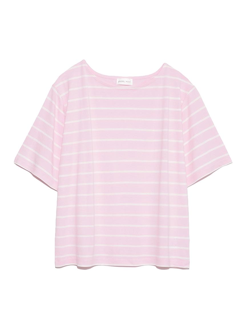 ボーダーTシャツ(PNK-F)