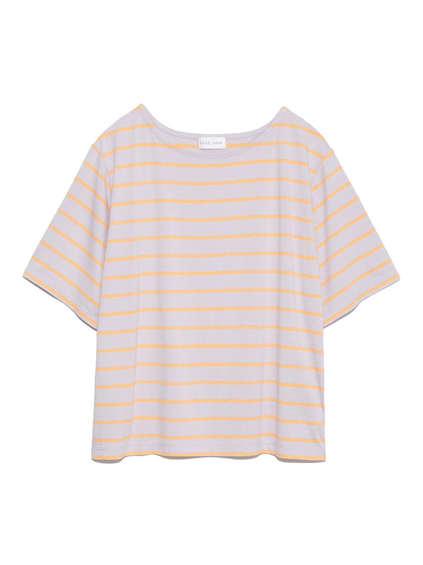 ボーダーTシャツ(LAV-F)