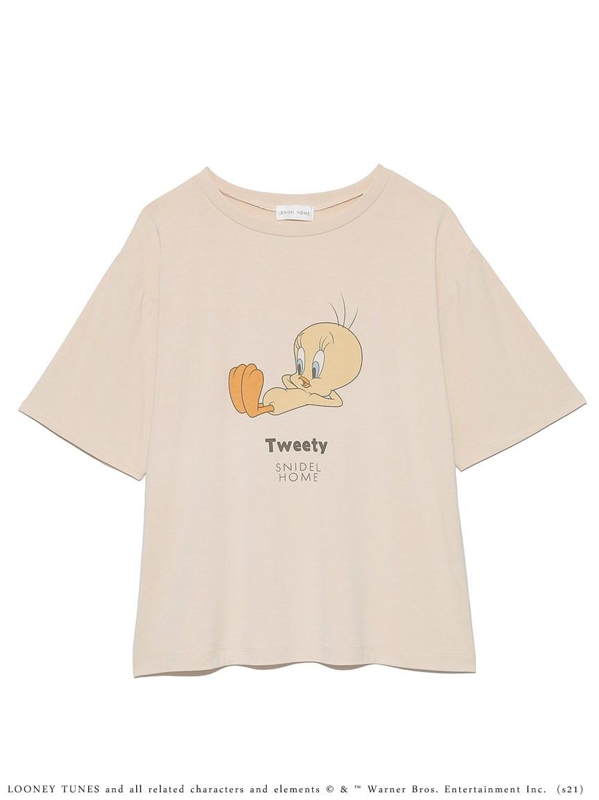 【Tweety】コラボTシャツ(YEL-F)