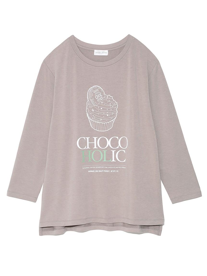 カップケーキロングスリーブTシャツ(MOC-F)