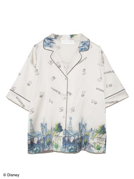 【Disneyマリー】プリントシャツ(OWHT-F)