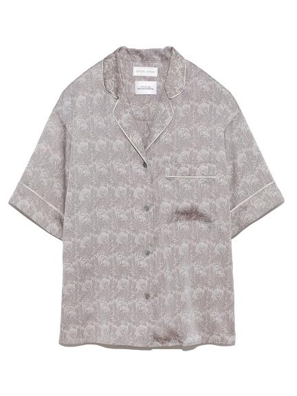 【ウィリアムモリス】サテンプリントシャツ