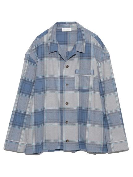 【ユニセックス】ネルチェックシャツ