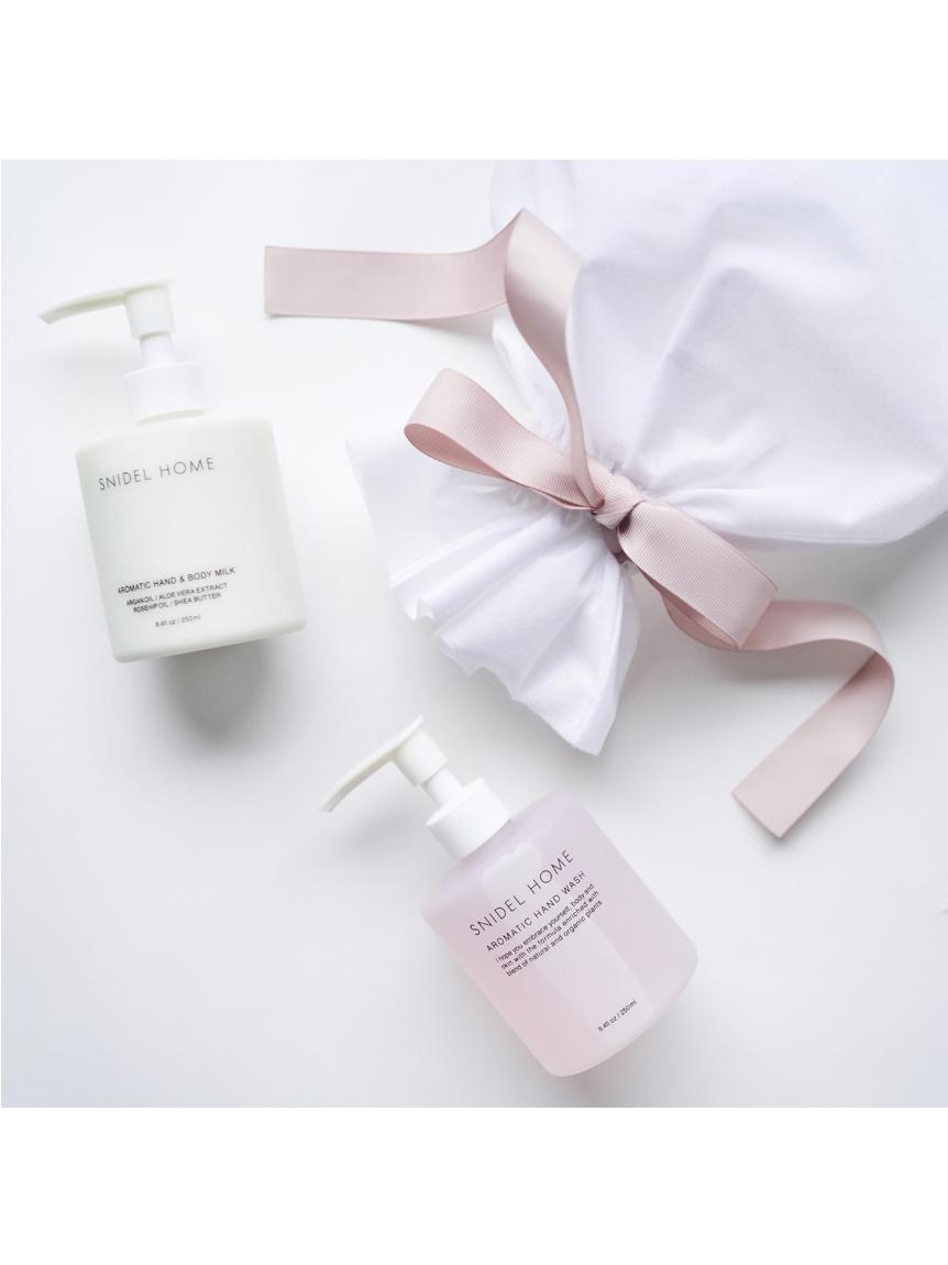 handsoap & handbodymilk set(SENSUAL WHITE FLORAL-F)