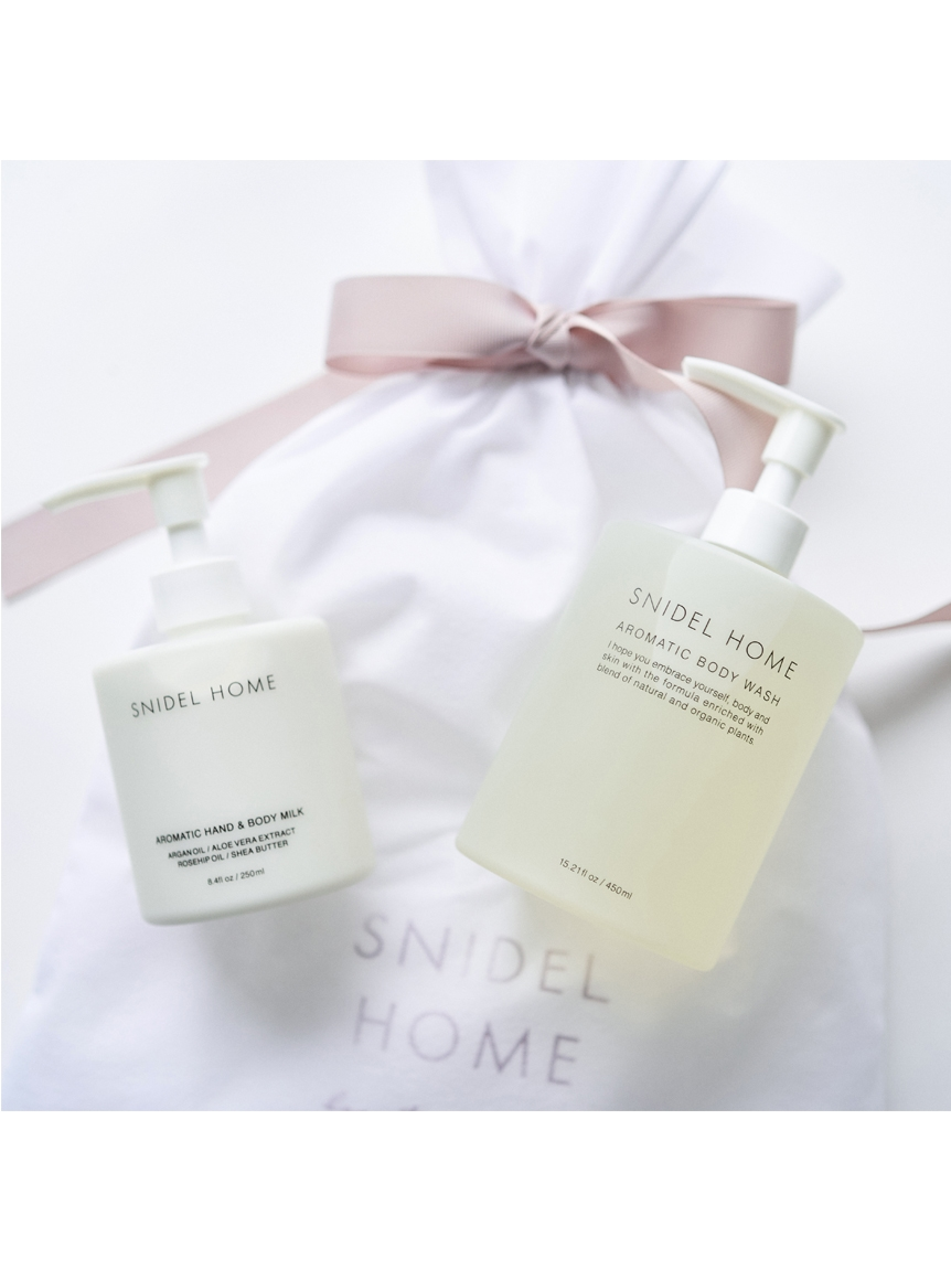 bodywash & handbodymilk set(SENSUAL WHITE FLORAL-F)