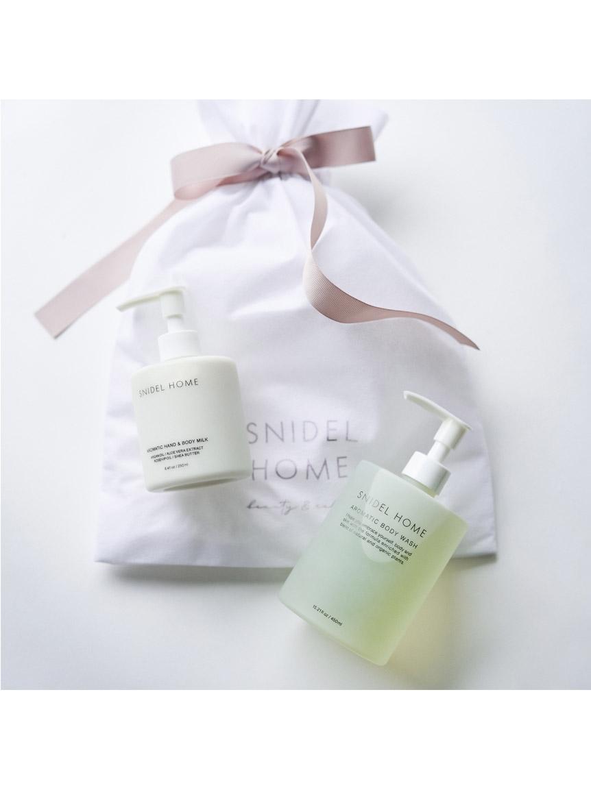 bodywash & handbodymilk set(PURE LINEN-F)