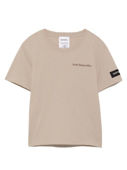 【SNIDEL KIDS】コラボTshirt(BEG-100)