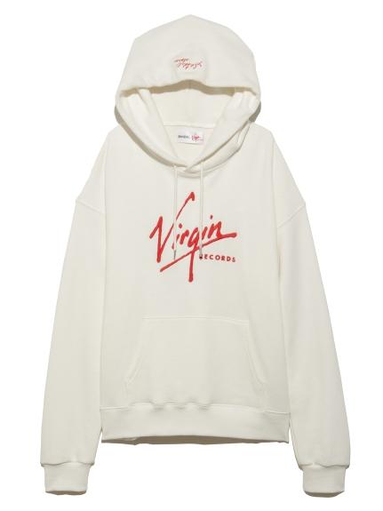 【SNIDEL feat.Virgin RECORDS】フーディー(WHT-F)