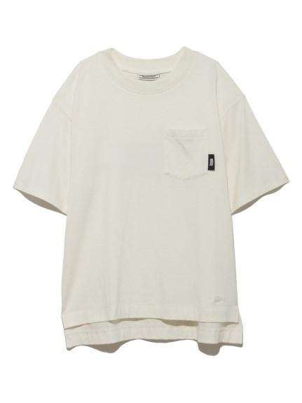 【SNIDEL meets. Onitsuka Tiger】 刺繍Tシャツ(OWHT-F)