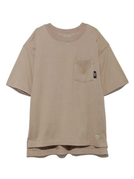 【SNIDEL meets. Onitsuka Tiger】 刺繍Tシャツ(BEG-F)