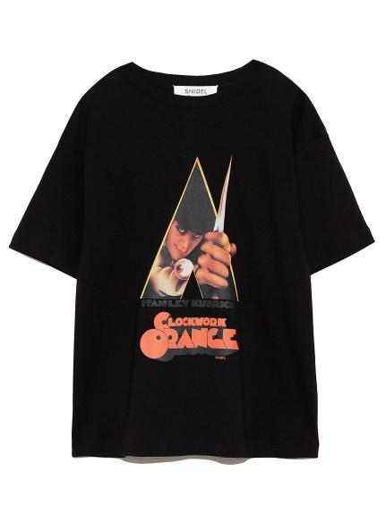 時計仕掛けのオレンジ Tシャツ(BLK-F)