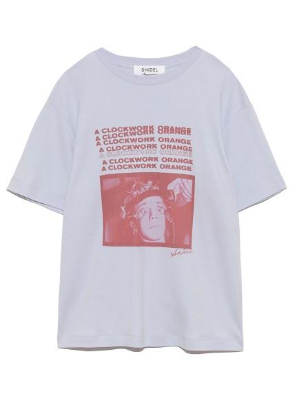 時計仕掛けのオレンジ Tシャツ(LAV-F)