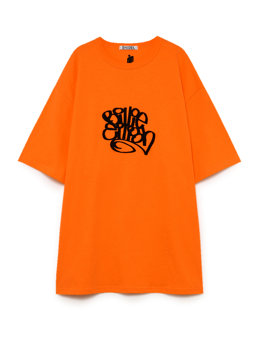 【SNIDEL feat. BILLIE EILISH】 Tシャツ(ORG-F)