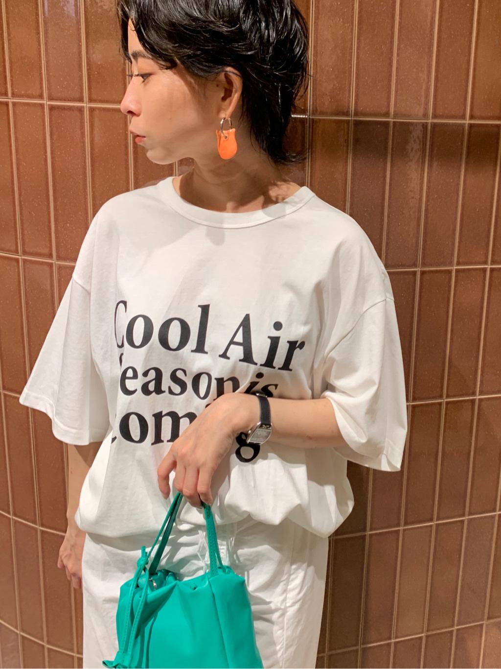 ロゴビッグTシャツ(WHTxBLK-F)