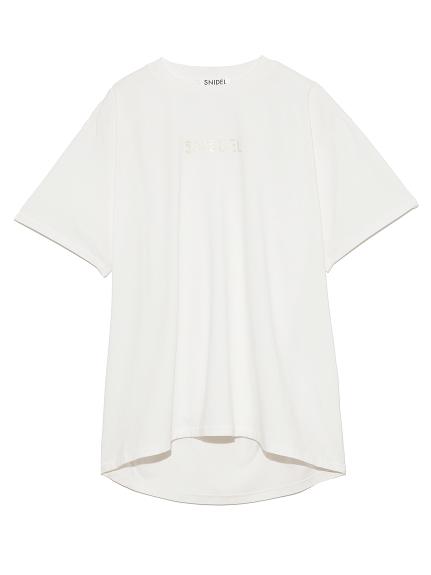 フォイルプリントTシャツ(WHT-F)