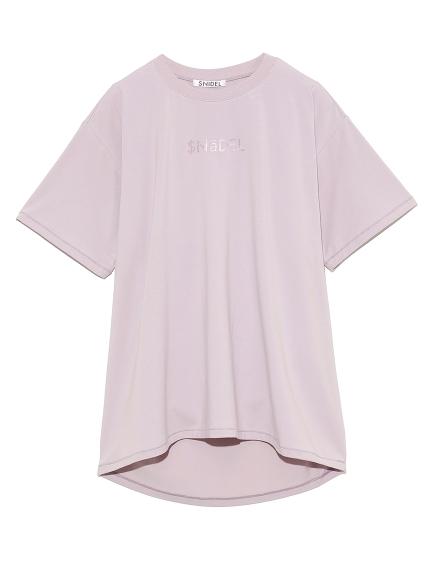 フォイルプリントTシャツ(PNK-F)