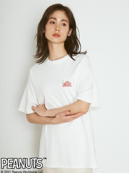 【SNIDEL meets PEANUTS】Tシャツ(WHT-F)