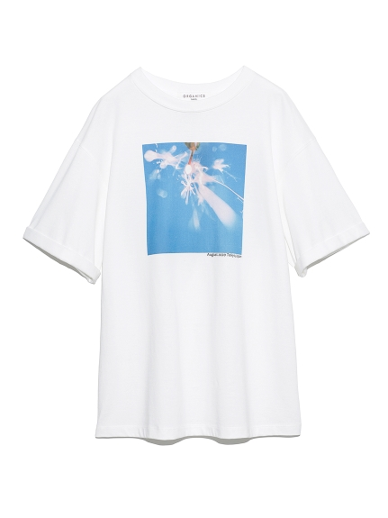 【SNIDEL meets Jun Imajo】コラボフォトTシャツ(B-F)