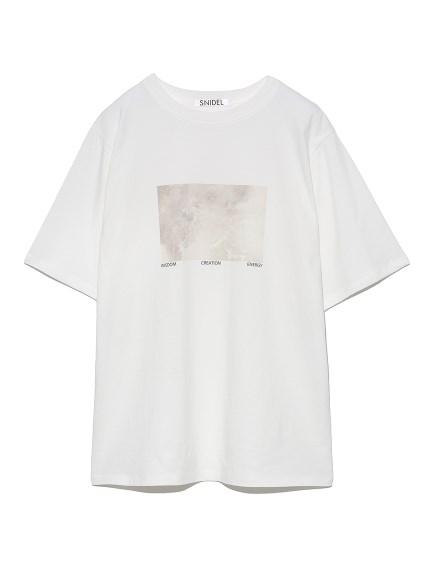 ORGANICSフォトプリントTシャツ(B-F)