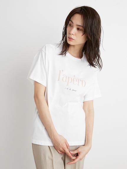 ロゴTシャツ(WHT-F)